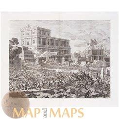Siege of Jerusalem old print Pompey the Great Jan Luyken 1729