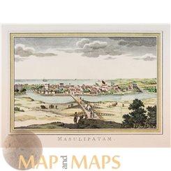 India Masulipatam on the East-India Coasts Bellin 1752