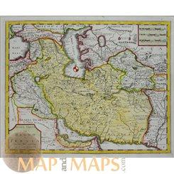 Regno Di Persia Kingdom of Persia Old map Albrizzi 1740