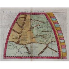 Tabula Asiae VIII-Map of East Asia-Claudius Ptolemaeus 1574