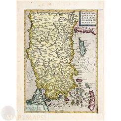 Cap de Bonne Esperance Cape of Good Hope South Africa Bellin 1754.
