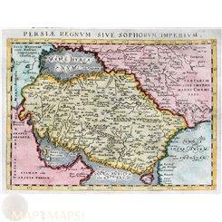 Persia Iran map Persiae Regnum Magini Ptolemaeus 1598