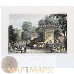 Göksu valley Turkey Fine old print 1840