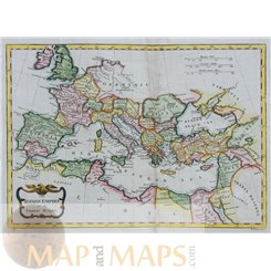MEDITERRANEAN ANTIQUE MAP, MORRISON/CONDOR C1790