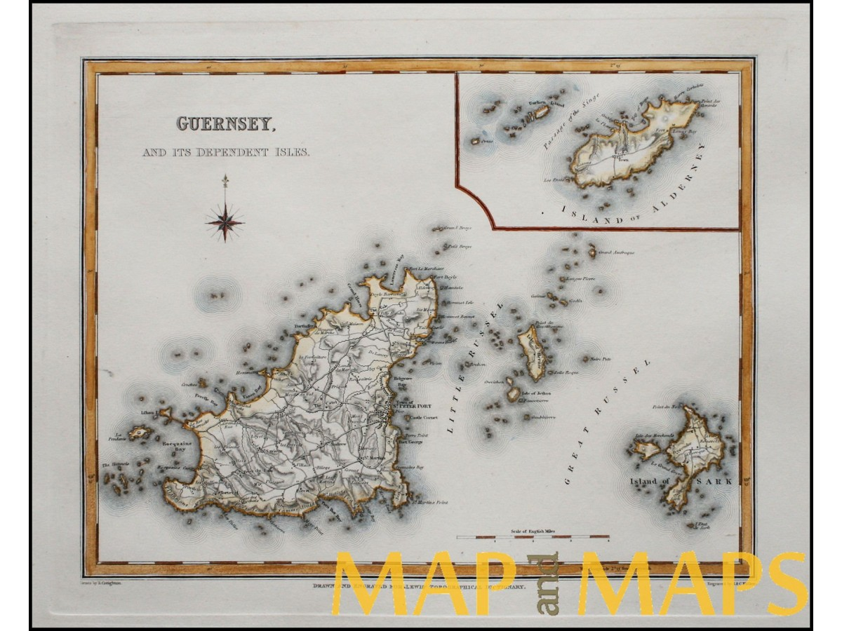 Guernsey and its dependent isles, Channel Islands Walker ... on